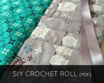 Sew it Yourself Crochet Roll PDF pattern