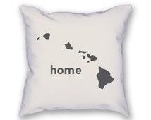 Hawaii Home Pillow
