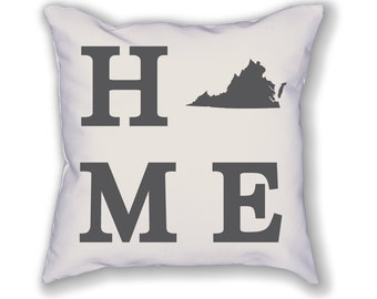 Virginia Home State Pillow