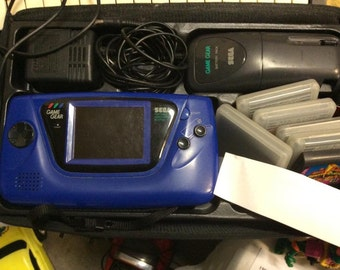 Sale Sale 1993 SEGA GameGear with games and case