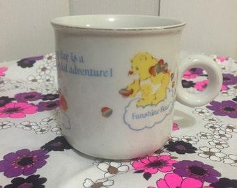 Retro 1980's Carebear mug