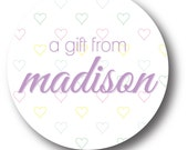 Personalized Gift Stickers_Tiny Hearts