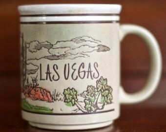 Vintage Las Vegas Southwestern Scene Mug