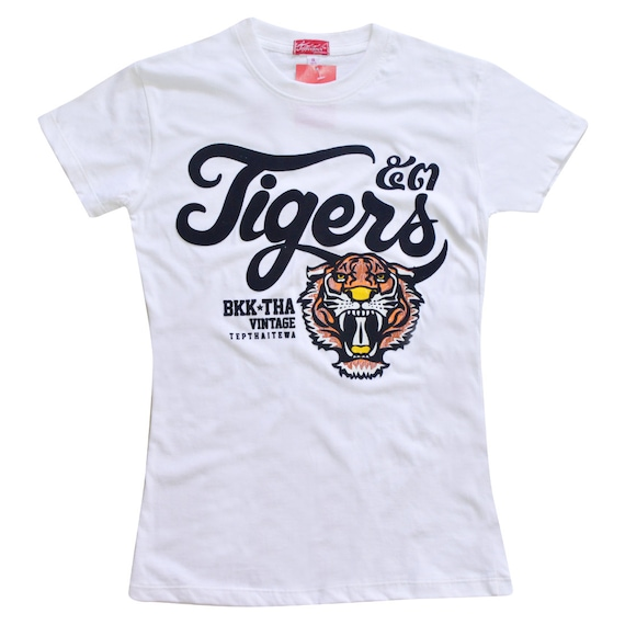 TepThaiTewa : Tiger Vintage Style Women's T-Shirt