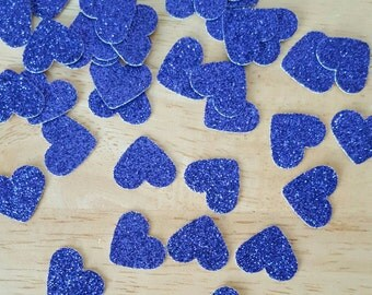 Mix & match confetti, purple hearts confetti, wedding decoration, glitter confetti, confetti toss, table decoration, scrapbooking