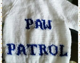 Paw patrol v neck cardigan