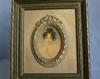 Sweet Victorian Lady Portrait