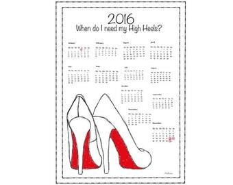 When do i need my high heels.