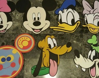 Mickey's Clubhouse  Centerpiece add ons (set of 7)