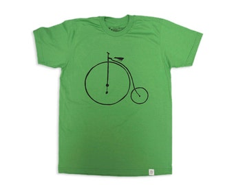 Penny Farthing Tee (Green)