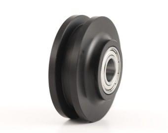 Barn Door Hardware Track Wheel / Roller (pair)