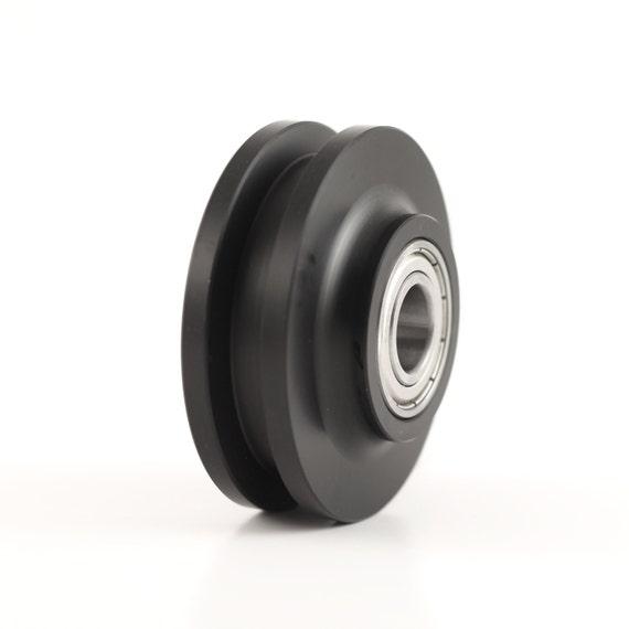 Barn Door Hardware Track Wheel Roller Pair