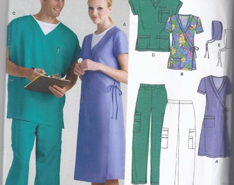 New Look 6634 Smock, Dress, and Pants Pattern (size 8-18)