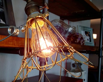 Vintage Styled Industrial Clamp Lamp By Firefly & Co.