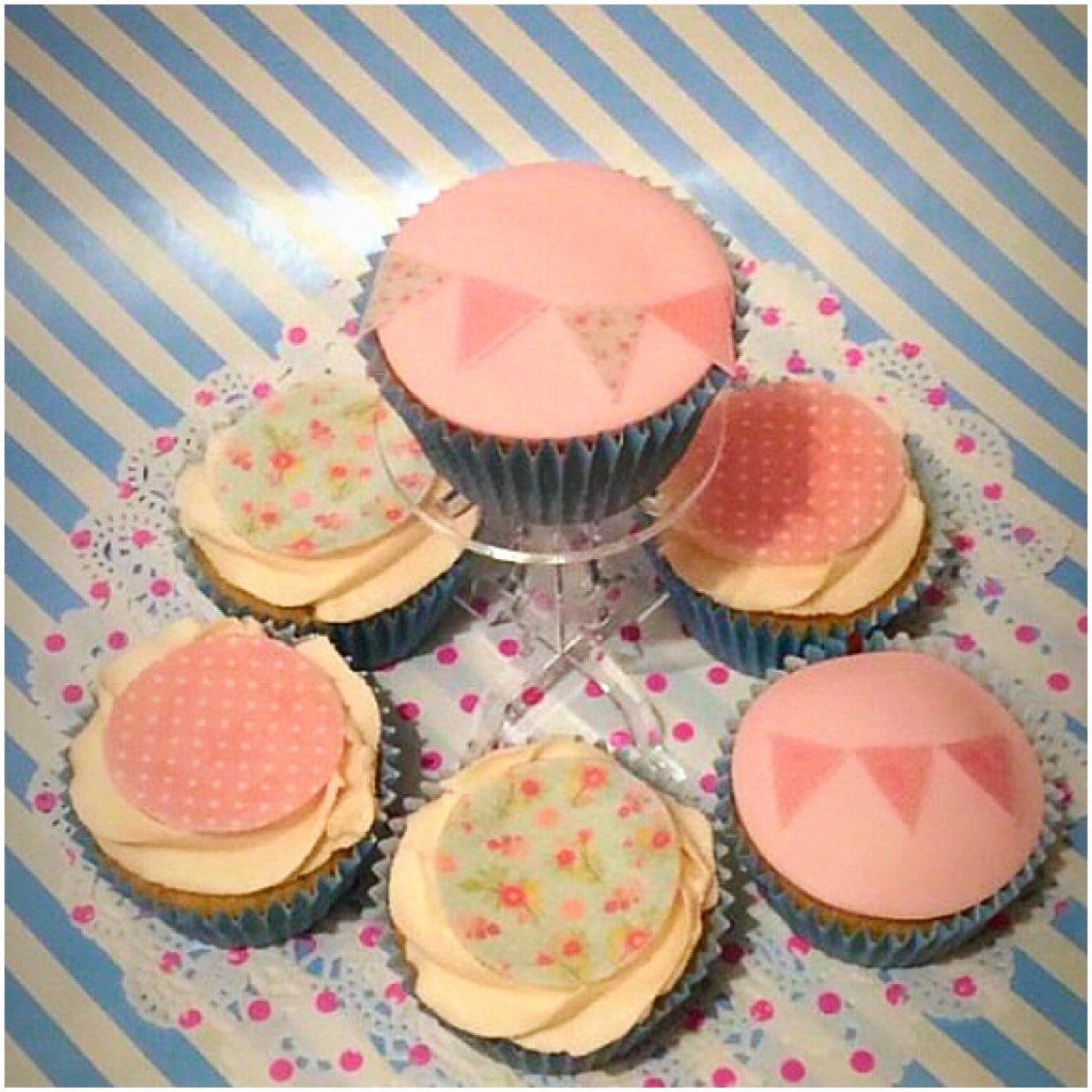 Greensborough Cake Decorating Trading Hours : Vintage Edible Bunting, Cake Decorating Kit, Birthday Cake ...