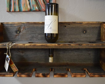 barnwood wine rack barn wood wine rack etsy 1489