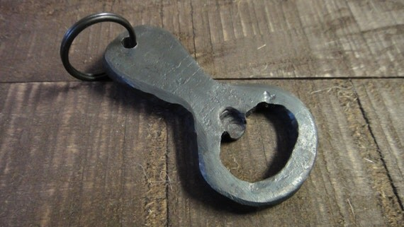 sale hand forged bottle opener keychain iron bottle opener. Black Bedroom Furniture Sets. Home Design Ideas