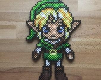 Legend of Zelda / Link - Perler Bead Sprite