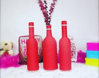 Unique Bottle, Botellas decoradas