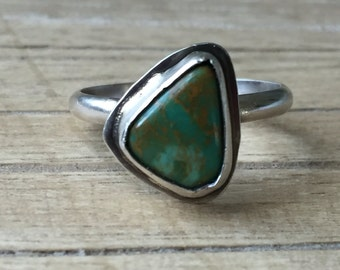 Handmade Silver & Turquoise Ring