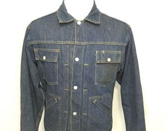 50's vintage foremost selvedge denim jacket indigo jean jacket