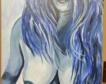 A Blue Woman