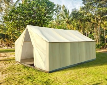 Authentic Canvas Glamping Tent - The Garden Safari Tent™
