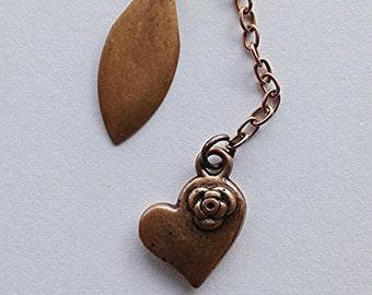 Handmade Jewelry, Handmade Earrings, Handmade, Jewelry, Earrings, Chain,Copper, Earrings handmade, Jewelry handmade, Chain earrings, gift