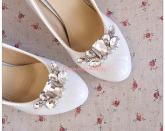 Rhinestone Bridal shoes clips rhinestone wedding shoes clips Rhinestone shoes clips