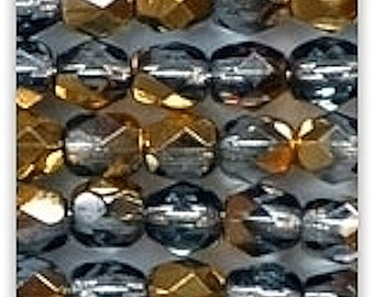 Faceted Swarovski beads