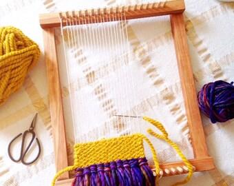 Tisser, Lap Loom, métier à tisser en bois, des outils de tissage, tissage Kit métier à tisser