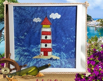 Embroidery file Lighthouse 18 x 30