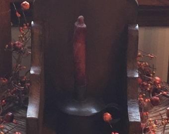 Handmade Primitive Sconce candle holder