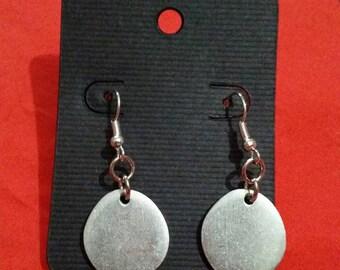Pewter earrings