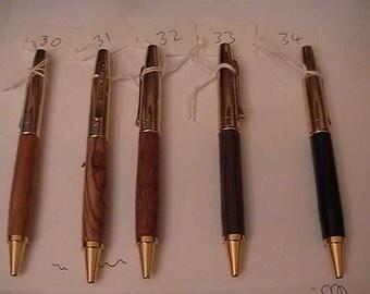 Anaheim Ballpoint Pens Chrome & 24k Gold