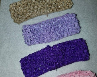 Soft stretchy GROW WITH ME headbands *variety of colors to chose from**