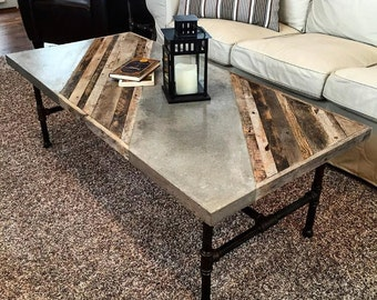 Woodcrete Coffee Table