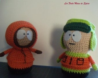 Kyle Kenny South Park crochet