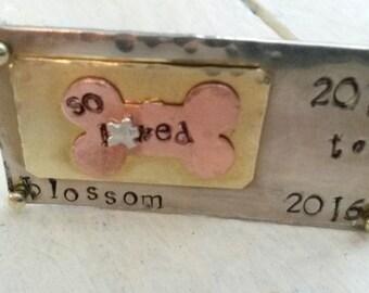 Memorial Pet Plaque  or Magnet - Sympathy gift for pet lover - Pet Remembrance Plaque - gift under 20 - gift for pet lover