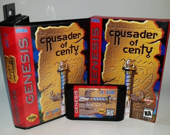Crusader of Centy (Game Saves!) Clam Shell and Box Option