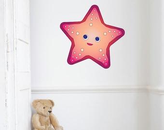 Starfish Kids Wall Decal Sticker PC0307