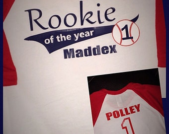 Rookie of the Year Birthday Tee