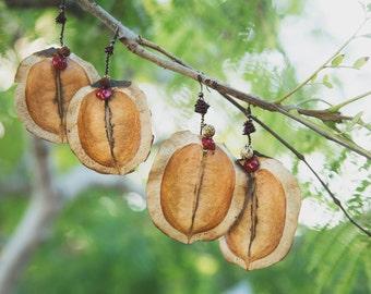 Sacred Seed Pod Earrings