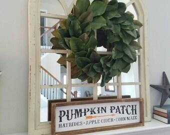 Pumpkin Patch Farmhouse Sign, Fall Decor, Pumpkin Fall Sign, Wooden Pumpkin Patch Sign, Home Decor, Farmhouse Sign, Rustic Fall Decor