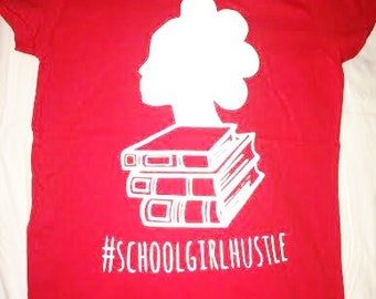 SGH Classic Ladies Tee (red & white)
