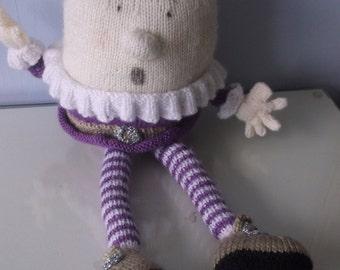Handmade Knitted Humpty Dumpty