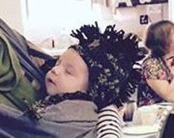 Baby Camoflague Mohawk Hat