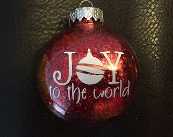 Sale! Joy to the World Ornament