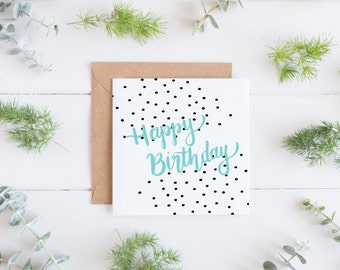 Birthday Spots Greeting Card, Birthday Card for Her, Birthday Card for Him