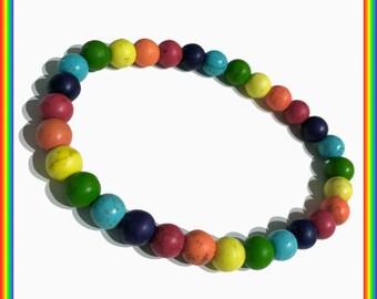 Full Rainbow Bracelet